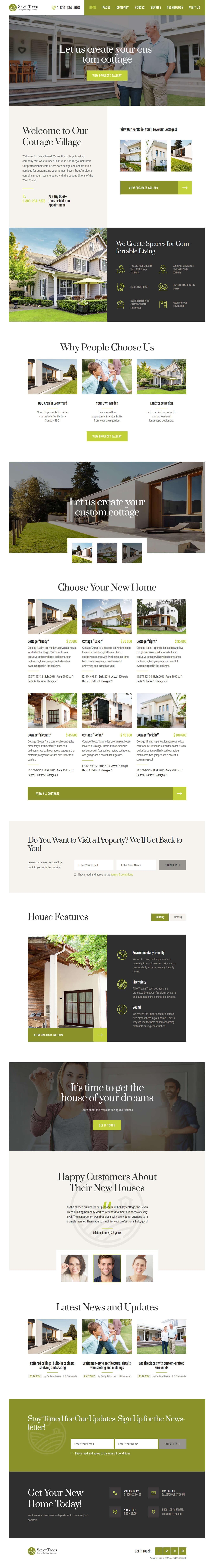 seventrees best premium home rental property wordpress theme - 10+ Best Premium Home Rental and Property WordPress Themes
