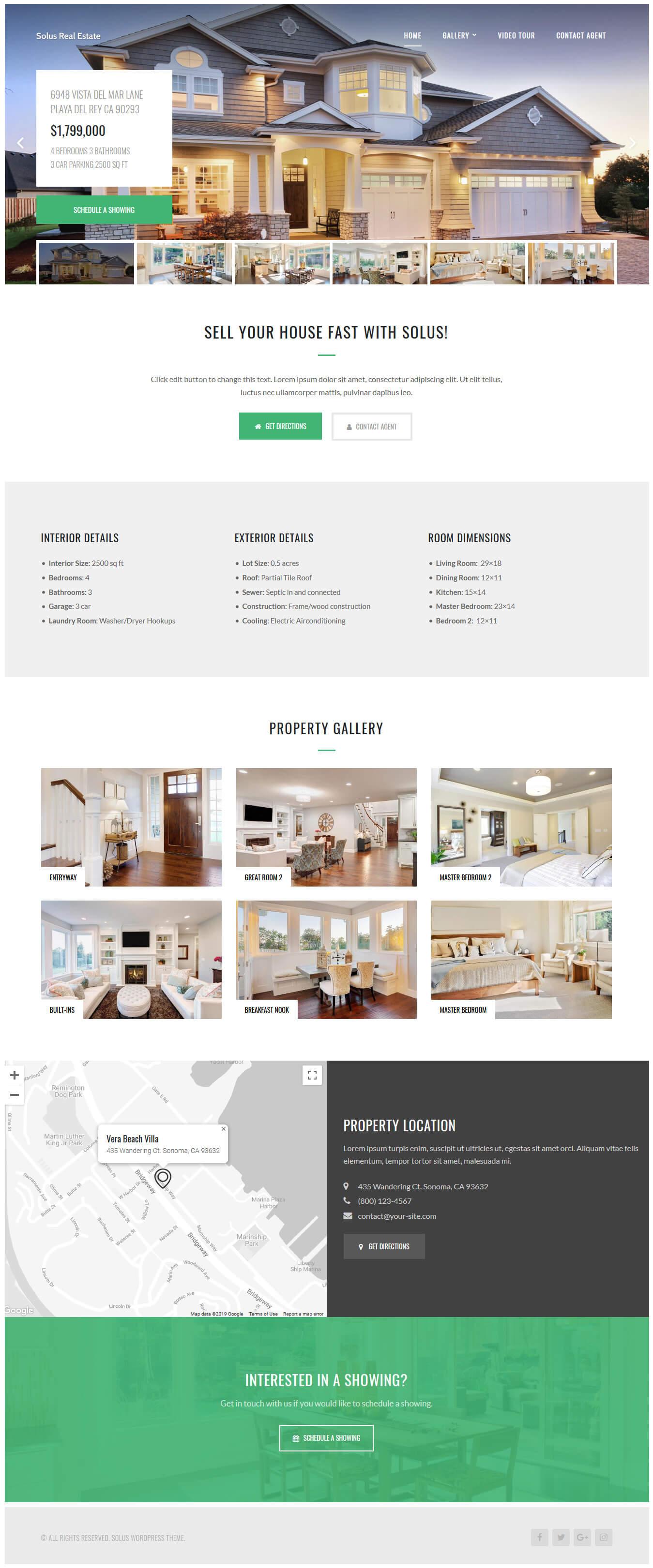 solus best premium home rental property wordpress theme - 10+ Best Premium Home Rental and Property WordPress Themes