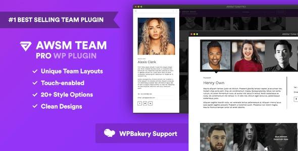 The Team Pro - Team Showcase WordPress Plugin