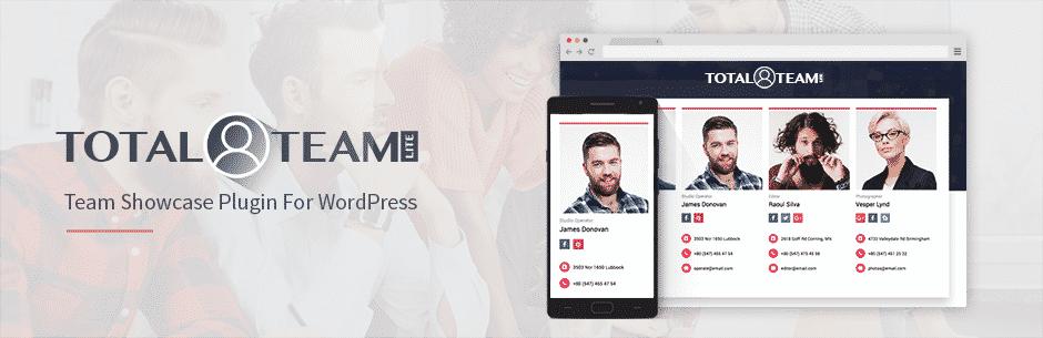 total team lite - How to Showcase Team Members on WordPress Website? (Step by Step Guide)