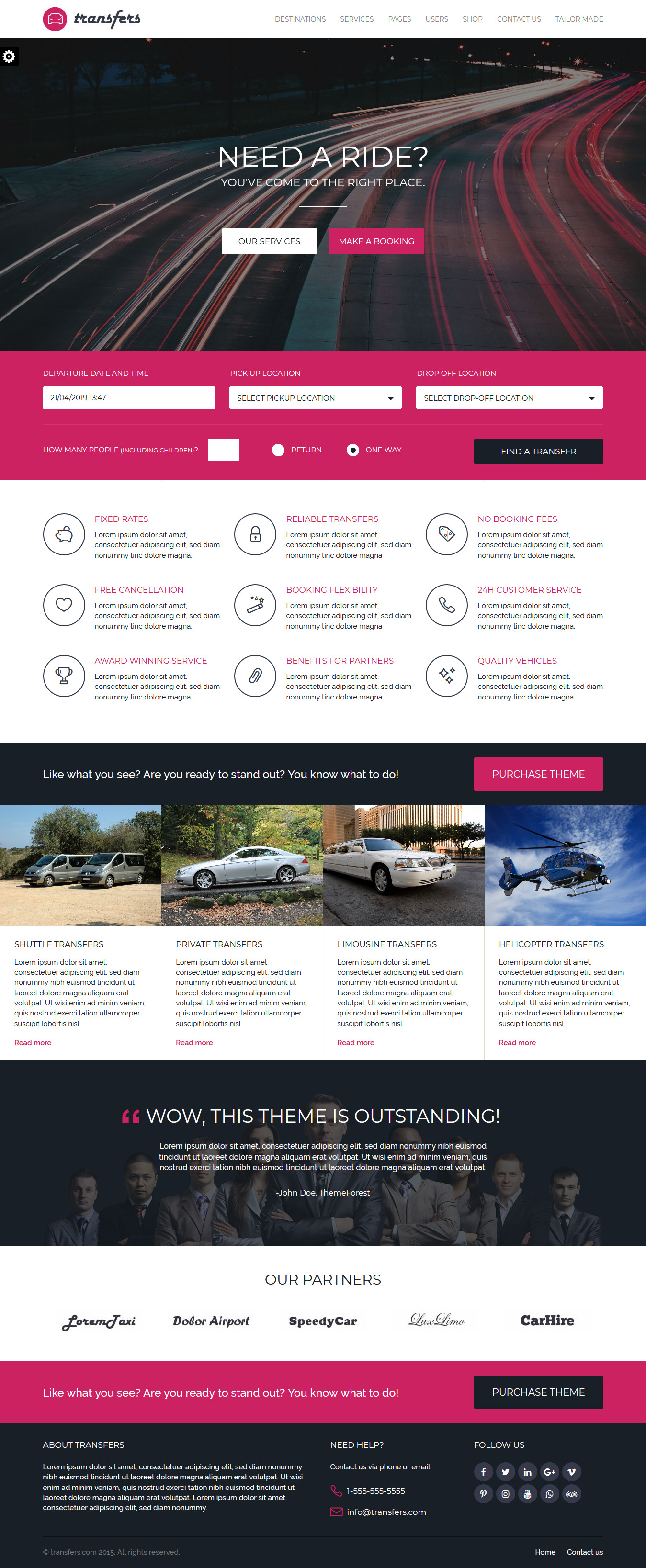 transfers best premium multilingual wordpress theme - 10+ Best Premium Multilingual WordPress Themes
