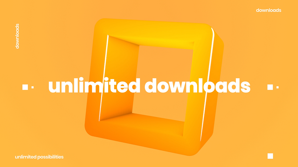 Unlimited Download - Benefit from One Subscription
