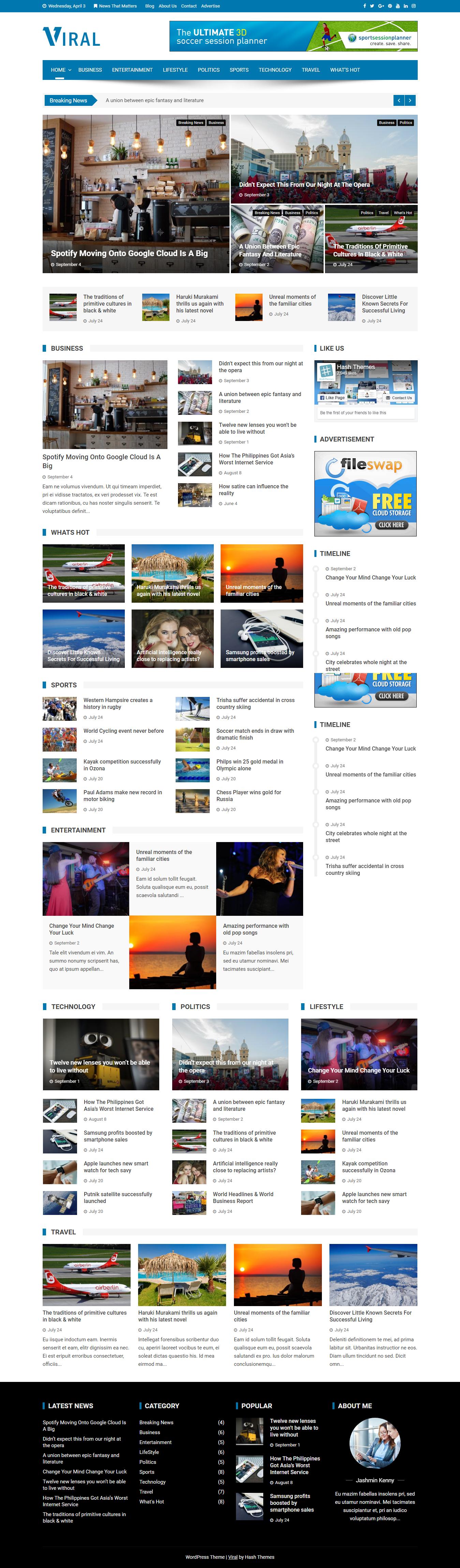 viral best free review wordpress theme - 10+ Best Free Review WordPress Themes