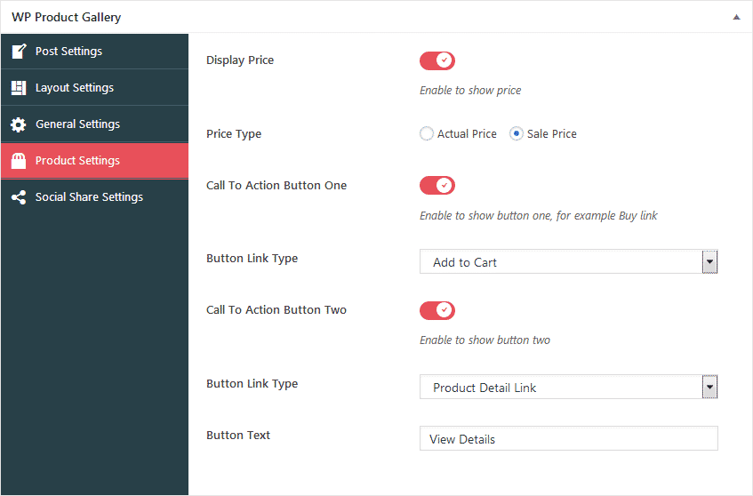 wp product gallery product settings - How to Add Product Gallery on WordPress Website? (Step by Step Guide)