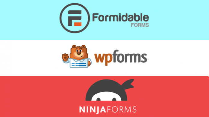 WPForms vs Formidable Forms vs Ninja Forms - Which is the Best WordPress Contact Form Plugin?