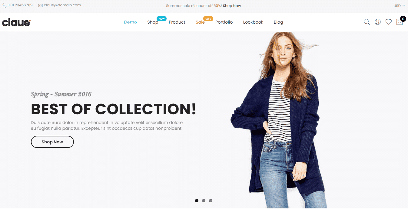 Claue - Best Premium Elementor WordPress Themes