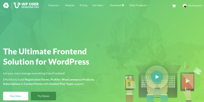 5+ Best WordPress Frontend Posting Plugins