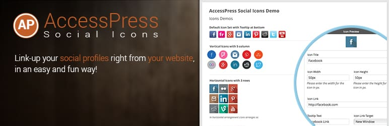accesspress social icons - How to Add Social Icons to WordPress Website? (Step by Step Guide)