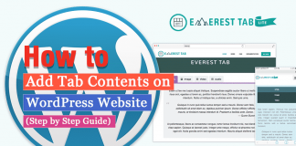 How to Add Tab Contents on WordPress Website? (Step by Step Guide)
