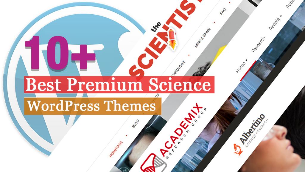 Best Premium Science WordPress Themes