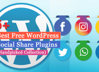 5+ Best Free WordPress Social Share Plugins (Handpicked Collection)