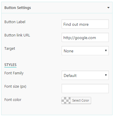 Everest Counter Lite: Button Settings