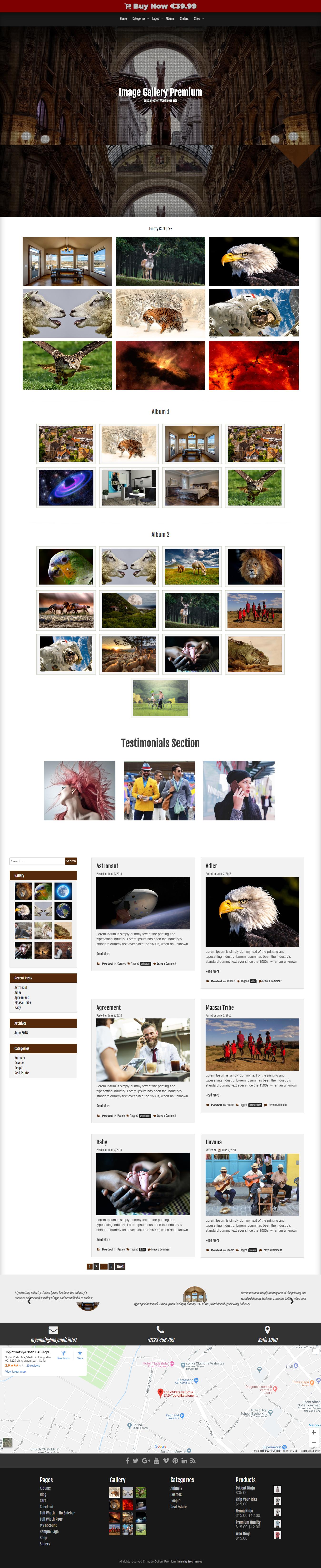 image gallery best free gallery wordpress theme - 10+ Best Free Gallery WordPress Themes