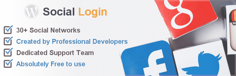 oa social login - 5+ Best Free WordPress Social Login Plugins (Handpicked Collection)