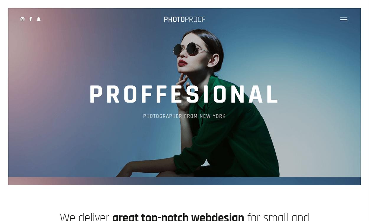 rife free - 25+ Best Free Photography WordPress Themes & Templates 2020
