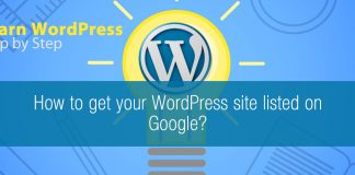 How to get your WordPress site listed on Google