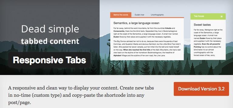 5+ Best Free WordPress Tab Plugins