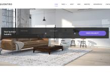 Aquentro - Single Property WordPress Theme
