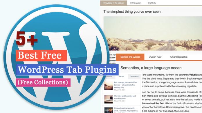 Best Free WordPress Tab Plugins