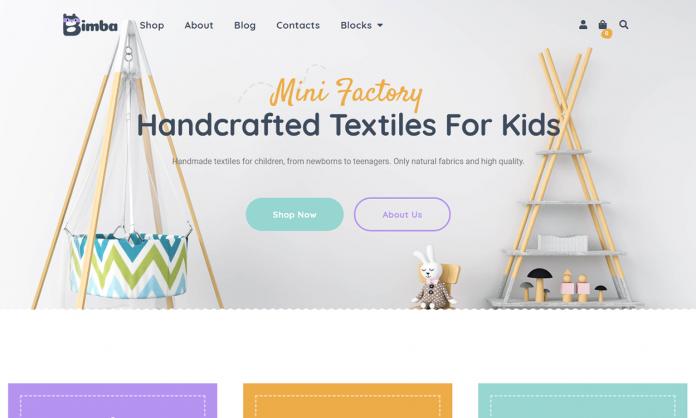 Bimba - Craft & Handmade WooCommerce WordPress Theme