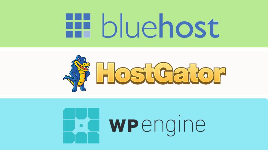 Bluehost vs HostGator vs WP Engine - Which is the Best WordPress Hosting Provider?