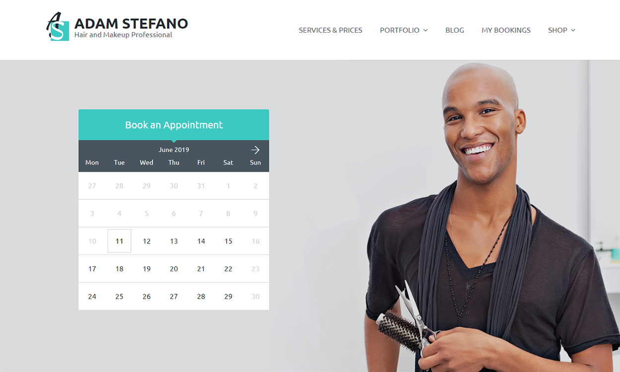Entrepreneur - Appointment WordPress Theme
