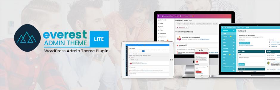 everest admin theme lite best free wordpress backend customizer plugin - 5+ Best Free WordPress Backend Customizer Plugins