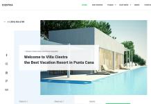 Ciestra - Resort WordPress Theme