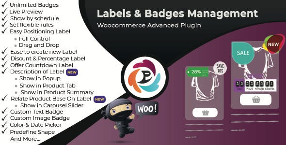 woocommerce advance product label and badge pro - 5+ Best WooCommerce Badge Designer Plugins