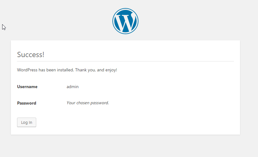 Installing WordPress (WP)