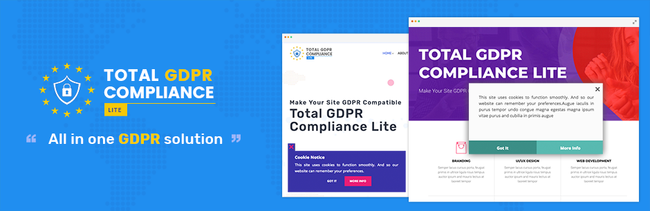 Total GDPR Compliance Lite