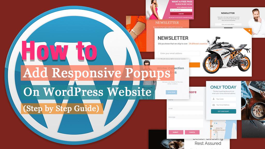 How to Add Responsive Popups on WordPress Website?