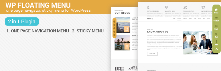 WP Floating Menu - Best Free WordPress Floating Menu Plugin