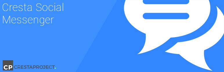 cresta social messenger - 5+ Best Free WordPress Messenger Button Plugins