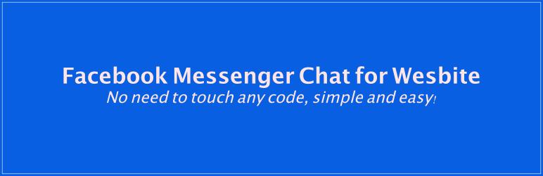 facebook messenger chat for website - 5+ Best Free WordPress Messenger Button Plugins