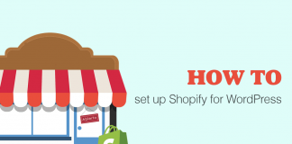 How to set up Shopify with WordPress
