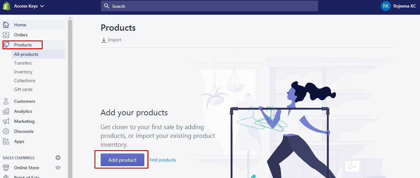 products - How to set up Shopify with WordPress? (Step by step tutorial)