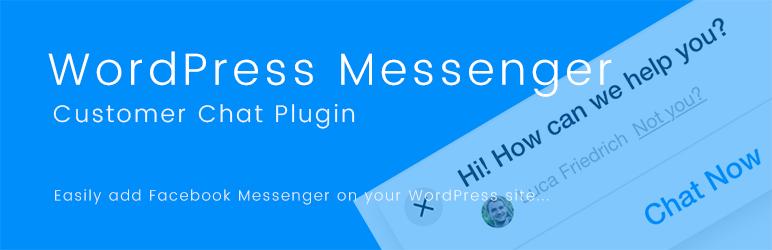 wordpress messenger customer chat - 5+ Best Free WordPress Messenger Button Plugins