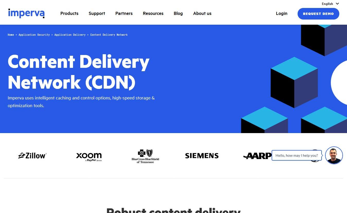 Imperva - 10 Best CDN Services to Speed Up Your Website