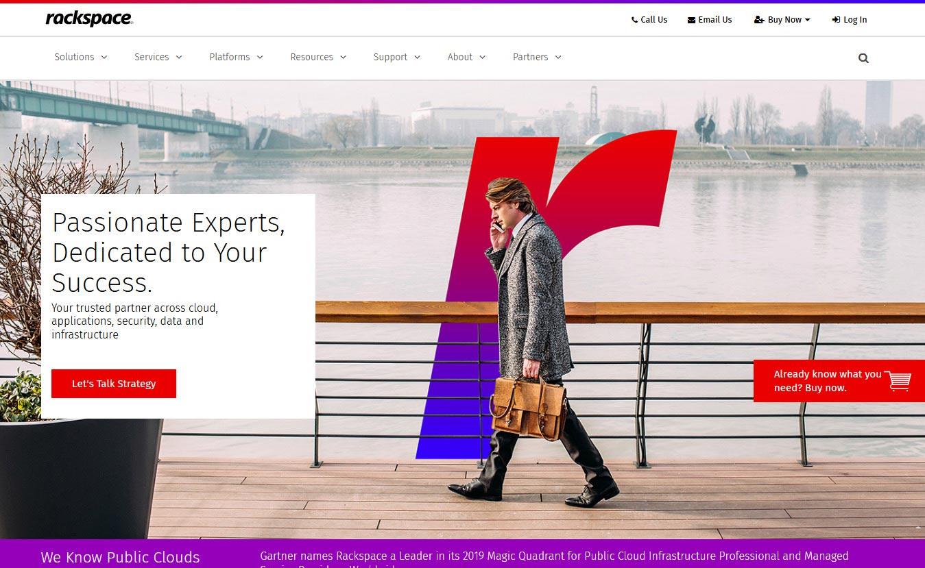 Rackspace - 10 Best CDN Services to Speed Up Your Website