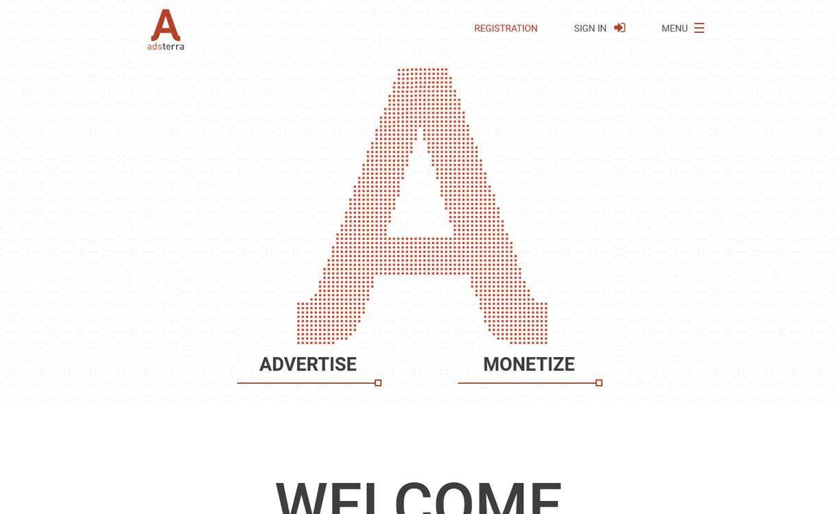 adsterra - 8 Best Google AdSense Alternatives 2020