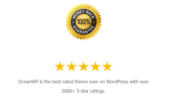 ocean wp - 50% Off on all Subscription Plan of OceanWP Theme (400K+ Active Installs)