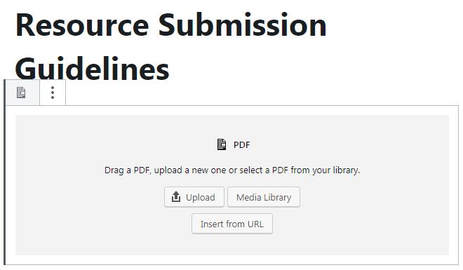 PDF Block