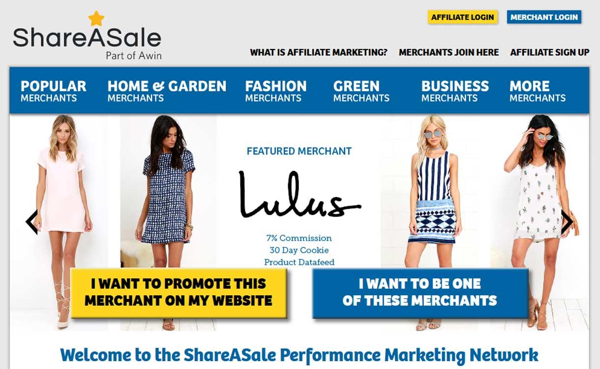 shareasale - 8 Best Google AdSense Alternatives 2020