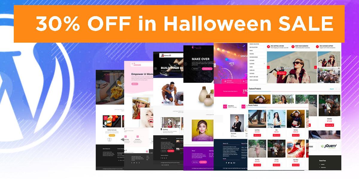 AcmeThemes Halloween Deals - 25+ Best WordPress Deals and Discounts for Halloween 2019 (Upto 49% OFF)