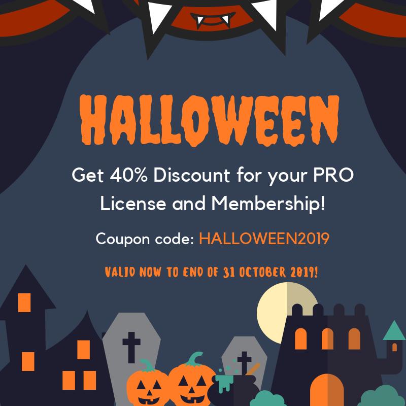 ltheme halloween - 25+ Best WordPress Deals and Discounts for Halloween 2019 (Upto 49% OFF)