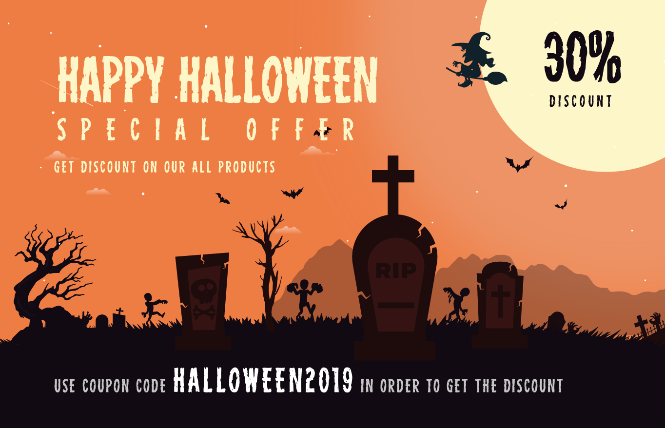 sparklethemes halloween offer - 25+ Best WordPress Deals and Discounts for Halloween 2019 (Upto 49% OFF)
