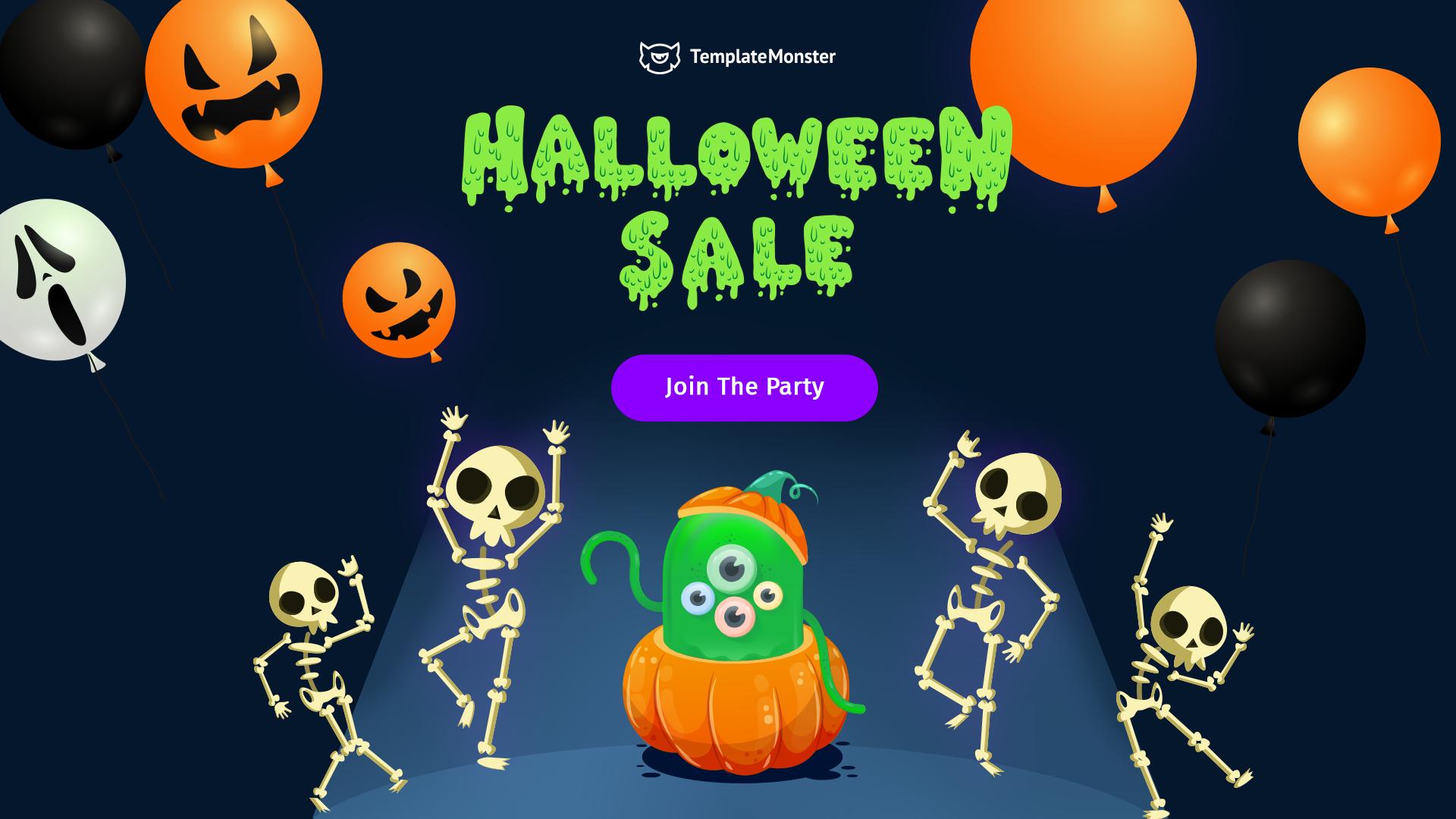 templatemonster halloween offer 1 - 25+ Best WordPress Deals and Discounts for Halloween 2019 (Upto 49% OFF)