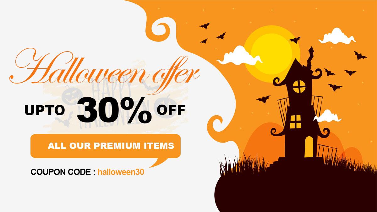 templatesell halloween offer - 25+ Best WordPress Deals and Discounts for Halloween 2019 (Upto 49% OFF)