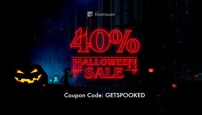 Themeum WordPress Halloween Deal